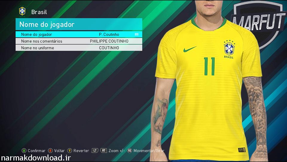 دانلود کیت پک World Cup 2018 توسط Lucas برای PES 2018 با لینک مستقیم