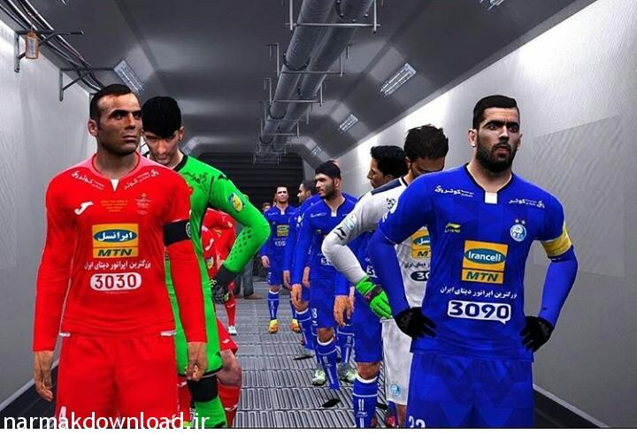 دانلود پچ لیگ برتر ایران فصل 96-97 همراه پج جام جهانی برای pes 2017