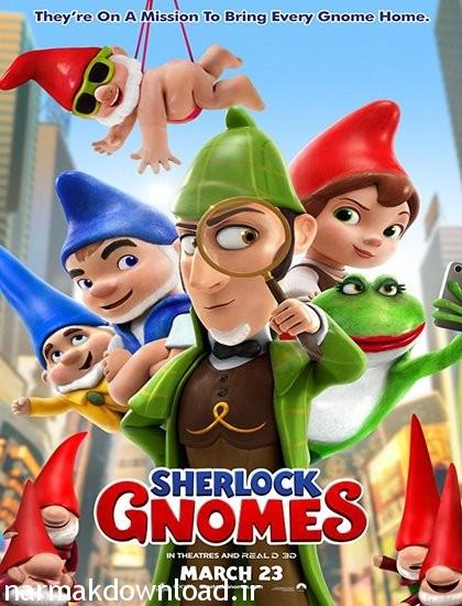 دانلود انیمیشن Sherlock Gnomes 2018 با لینک مستقیم از نارمک دانلود