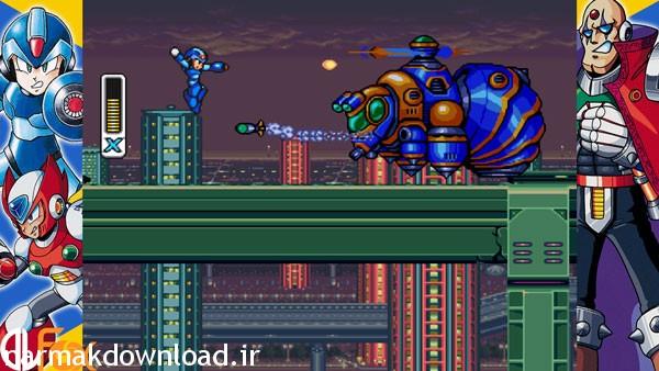 دانلود بازی Mega Man X Legacy Collection,دانلود بازی Mega Man X Legacy Collection برای کامپیوتر با لینک مستقیم,دانلود بازی با لینک مستقیم