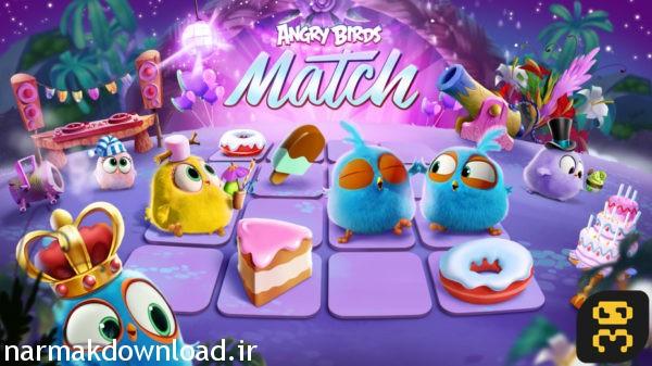 دانلود بازی Angry Birds Match 1.6.0 با لینک مستقیم