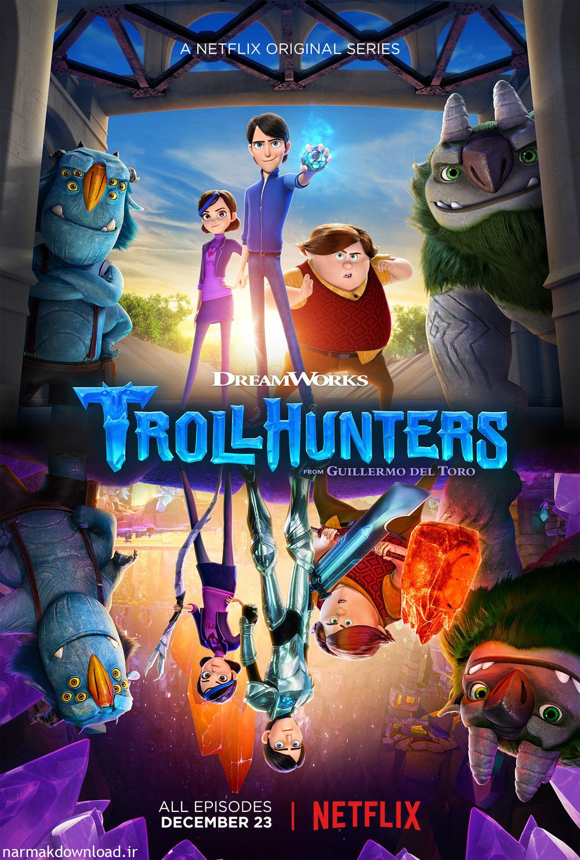 دانلود رایگان انیمیشن Trollhunters غول کش ها