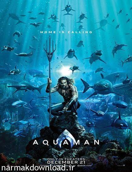 دانلود فیلم جدید Aquaman 2018 با لینک مستقیم