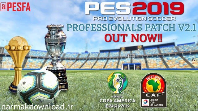 PES 2019 Professionals Patch V2 AIO,آپدیت رسمی پچ پروفشنال,پچ برای PES