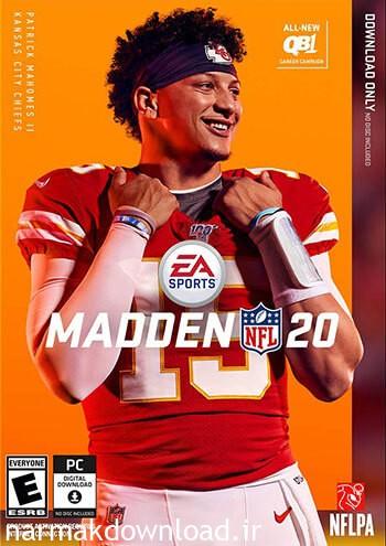 آموزش نصب کرک بازی Madden NFL 20,بازی AAA,بازی Madden NFL 20